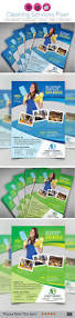 cleaning services flyer magazine ad template psd design