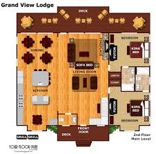 Grandview Homes Floor Plans by 12 Bedroom Sleeps 56 Grand View Lodge By Large Cabin Rentals