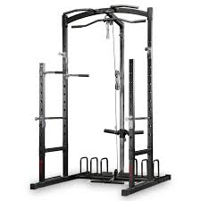 the marcy eclipse rs5000 power rack gym with high u0026 low pulley