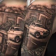 automotive tattoo sleeve katherine parkes u2014 this mortal coil tattoo gallery