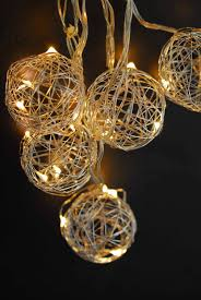Bird String Lights by Wire Ball Battery Op Led String Lights 9ft 10ct