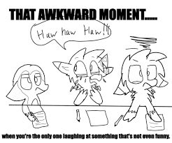 Awkward Moment Meme - that awkward moment meme 1 by ghostninjaart on deviantart
