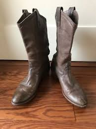 womens boots size 11 leather frye leather womens boots mid calf size 11 ebay