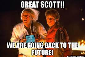 Back To The Future Meme - google s blueprint for search domination