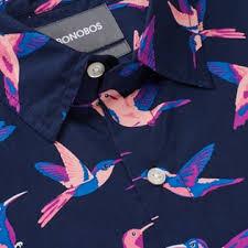 s sleeve shirts solid print bonobos