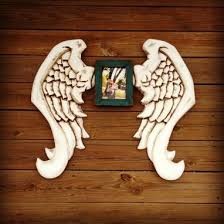 Angel Wing Wall Decor Custom Hand Carved Angel Wings U0026 Wood Wall Decor By Nevermore