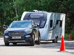 santa fe hyundai towing capacity hyundai santa fe review hyundai tow cars practical caravan