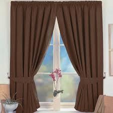 Brown Blackout Curtains Blackout Curtains Brown 6 Sizes
