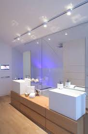 bathroom track lighting ideas fashionable bathroom for apartment interior decor establish