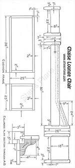 Chaise Lounge Plans Printable Plans For A Chaise Lounge