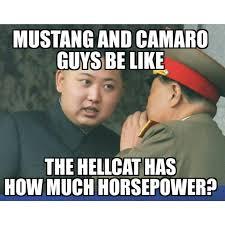 Guys Be Like Meme - mustang and camaro guys be like