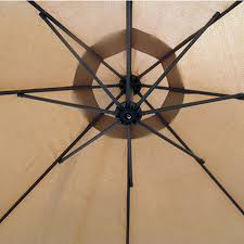 Patio Umbrella Fan by Amazon Com Best Choice Products Patio Umbrella Offset 10