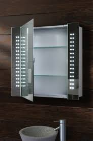 Bathroom Mirror Cabinet Bathroom Mirrors Led Illuminated Bathroom Mirror Cabinet Home