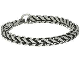 mens stainless steel chain bracelet images Steve madden stainless steel 9 twisted curb chain bracelet silver jpg