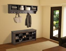 Contemporary Hallway Furniture by Modern Mudroom Furniture In Demand White Varnished Carpenter Made