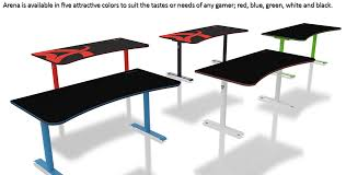 Desk Review Arozzi Arena Gaming Desk Review Legit Reviews