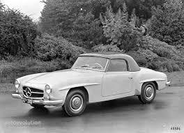 mercedes sl 190 mercedes typ 190 sl coupe w121 specs 1955 1956 1957