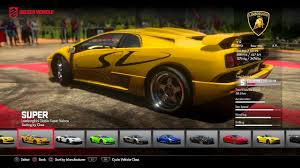 lamborghini bike driveclub ps4 all bike and cars all dlc youtube