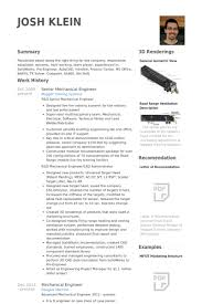 Sample Of Resume For Mechanical Engineer Download Senior Mechanical Engineer Sample Resume