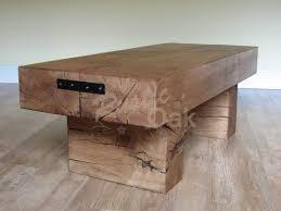 rustic oak coffee table standard 2 beam coffee table rustic oak