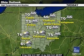 weather map ohio ohio weather the voice of the vikes