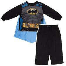 ame sleepwear boys black batman pajamas with
