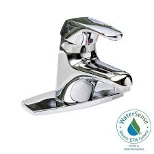 american standard seva 4 in centerset single handle bathroom