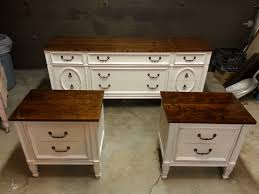 white distressed furniture video tutorial on how to create a