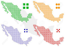 Political Map Of Mexico Mexico Map Stock Photos Royalty Free Mexico Map Images And Pictures