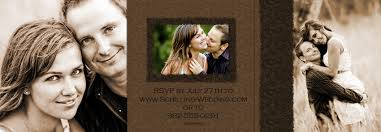 tri fold wedding invitations template best template collection