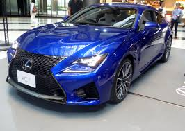 lexus rcf blue file the frontview of lexus rc f prototype jpg wikimedia commons
