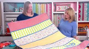 make an instant quilt use pre quilted fabric keeping u n