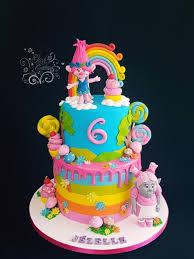 19 best troll u0027s cake images on pinterest 5th birthday birthday