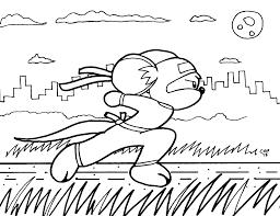 coloring book page 3 ninja mouse u2014 weasyl