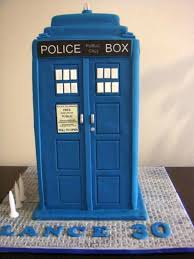 tardis cake topper doctor who themed cakes