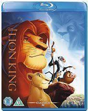 lion king blu ray uk import disney