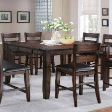 table dining room bar height dining room table ideas on bar tables