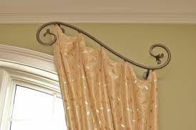 Decorative Double Traverse Curtain Rod by Decorative Functional Traverse Curtain Rods Window Treatment