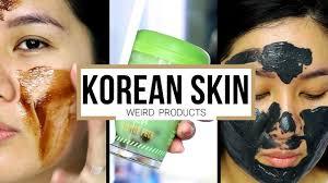 mga cool at weirdong korean skin care products kris lumagui