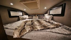 ford earthroamer interior 1 5m earthroamer xv hd is a go anywhere cabin on wheels curbed