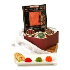 salmon gift basket smoked salmon gift basket box toronto wine baskets canada