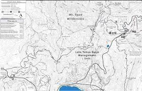 Reno Map Mount Rose