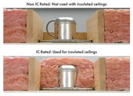 can light fire box recessed lighting recessed light insulation cover box recessed