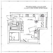 drawn kitchen studio apartment pencil and in color drawn kitchen pin drawn kitchen studio apartment 7