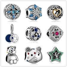 s day charms yanxizao 925 silver heart shape fit pandora bracelet charms