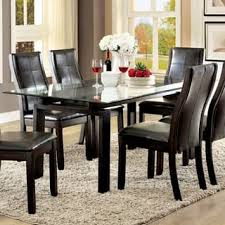 rectangle glass dining room table glass rectangle kitchen dining room tables for less overstock