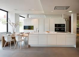 gorgeous poggenpohl segmento polar white kitchen with an