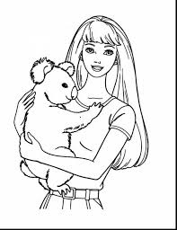 awesome barbie coloring pages barbie mermaid coloring pages