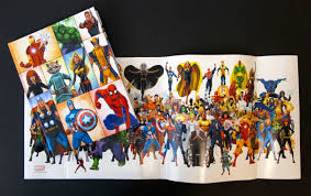 meet the marvel super heroes includes a poster of your favorite