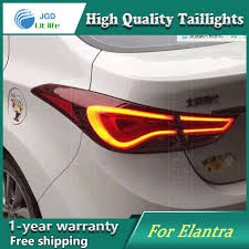 2010 hyundai elantra tail light assembly car styling case for hyundai elantra taillights tail lights led tail